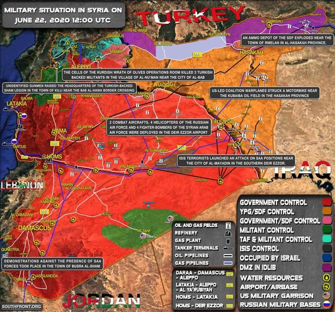 Biên giới nguy cấp, tướng lĩnh Ấn Độ họp khẩn -  Quân đội Syria ùn ùn kéo đến Idlib, giao tranh dữ dội - Ảnh 1.