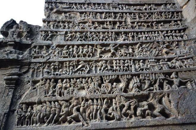 Bí ẩn mật mã trong ngôi đền được chạm khắc từ một tảng đá nguyên khối - Ảnh 6.