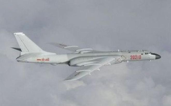 Máy bay ném bom Trung Quốc xâm nhập ADIZ Đài Loan, bị cảnh báo phải rời đi