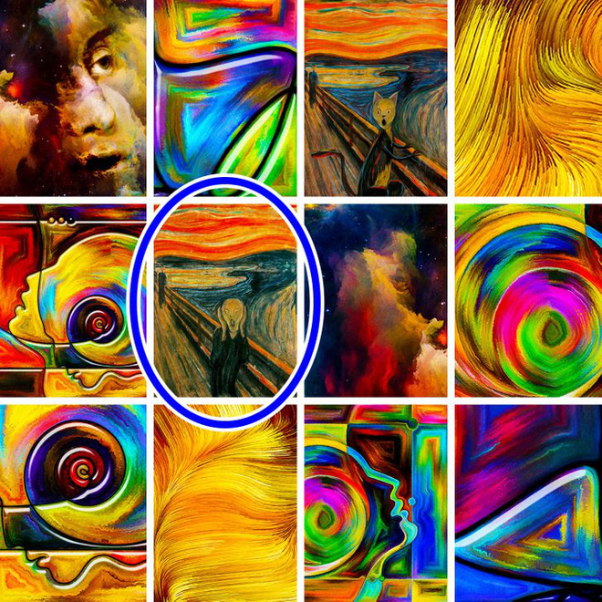 Thách thức thị giác: Bạn đủ tinh nhanh giải mã 8 bức tranh này không? - Ảnh 9.