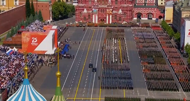 Nga bắt đầu lễ duyệt binh hoành tráng kỷ niệm 75 năm Chiến thắng Phát xít - Ảnh 1.