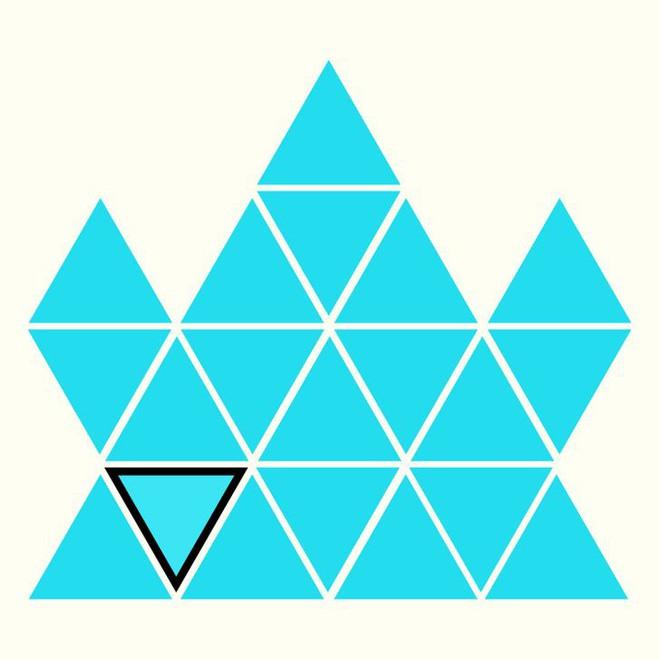 Người rất tinh mắt mới nhìn ra hình tam giác khác màu, bạn có nhìn thấy không? - Ảnh 23.