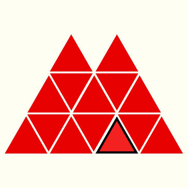 Người rất tinh mắt mới nhìn ra hình tam giác khác màu, bạn có nhìn thấy không? - Ảnh 20.