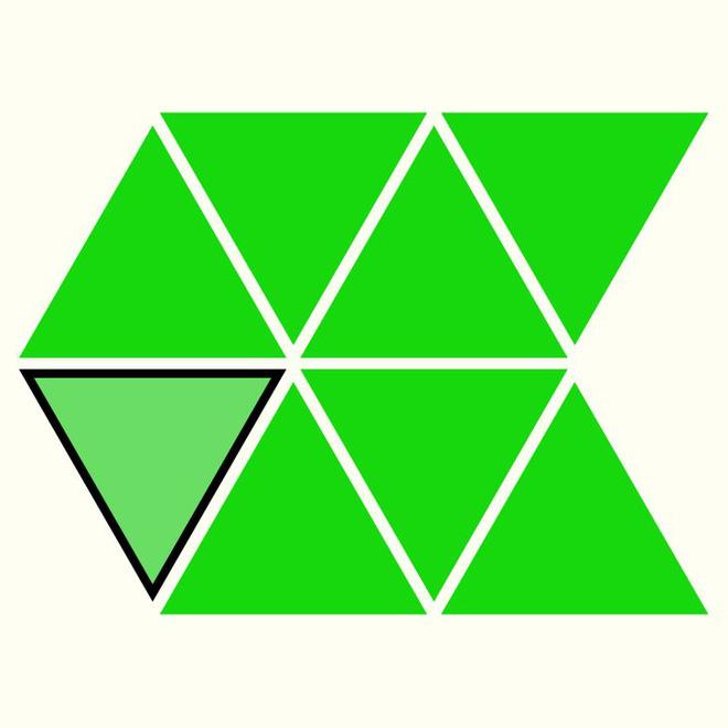 Người rất tinh mắt mới nhìn ra hình tam giác khác màu, bạn có nhìn thấy không? - Ảnh 17.