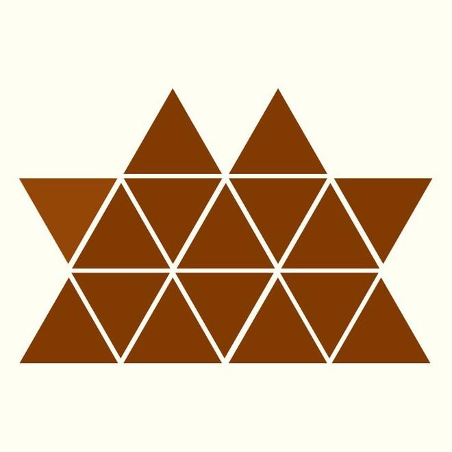 Người rất tinh mắt mới nhìn ra hình tam giác khác màu, bạn có nhìn thấy không? - Ảnh 6.