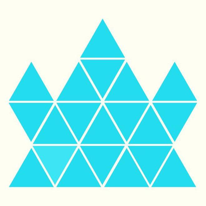Người rất tinh mắt mới nhìn ra hình tam giác khác màu, bạn có nhìn thấy không? - Ảnh 8.