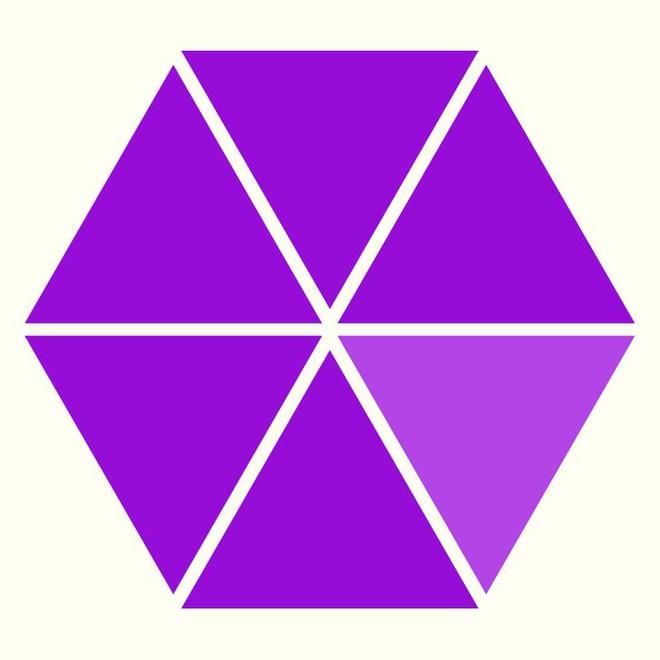 Người rất tinh mắt mới nhìn ra hình tam giác khác màu, bạn có nhìn thấy không? - Ảnh 1.