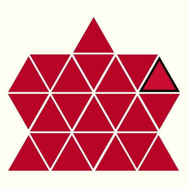 Người rất tinh mắt mới nhìn ra hình tam giác khác màu, bạn có nhìn thấy không? - Ảnh 24.