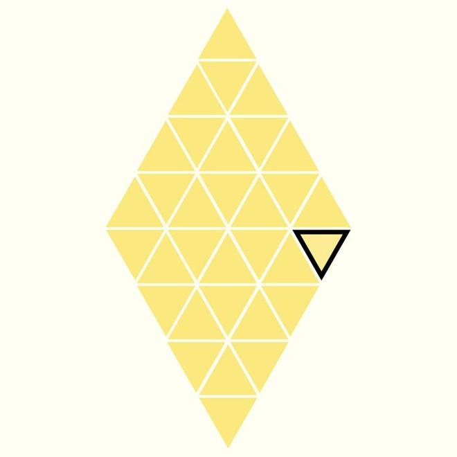 Người rất tinh mắt mới nhìn ra hình tam giác khác màu, bạn có nhìn thấy không? - Ảnh 29.