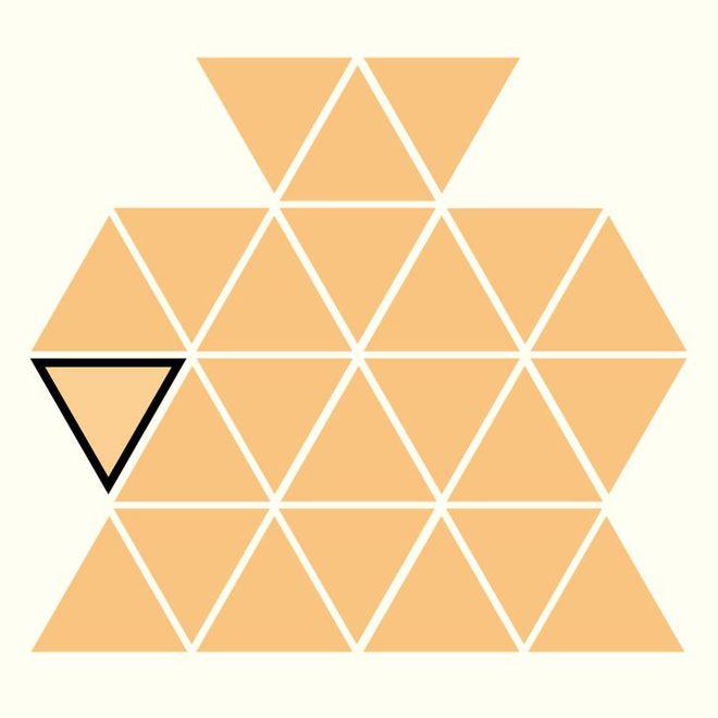 Người rất tinh mắt mới nhìn ra hình tam giác khác màu, bạn có nhìn thấy không? - Ảnh 25.
