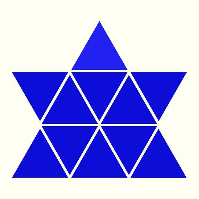 Người rất tinh mắt mới nhìn ra hình tam giác khác màu, bạn có nhìn thấy không? - Ảnh 3.