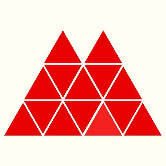 Người rất tinh mắt mới nhìn ra hình tam giác khác màu, bạn có nhìn thấy không? - Ảnh 5.