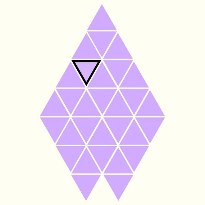 Người rất tinh mắt mới nhìn ra hình tam giác khác màu, bạn có nhìn thấy không? - Ảnh 28.
