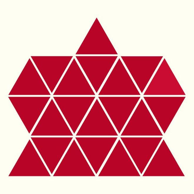Người rất tinh mắt mới nhìn ra hình tam giác khác màu, bạn có nhìn thấy không? - Ảnh 9.