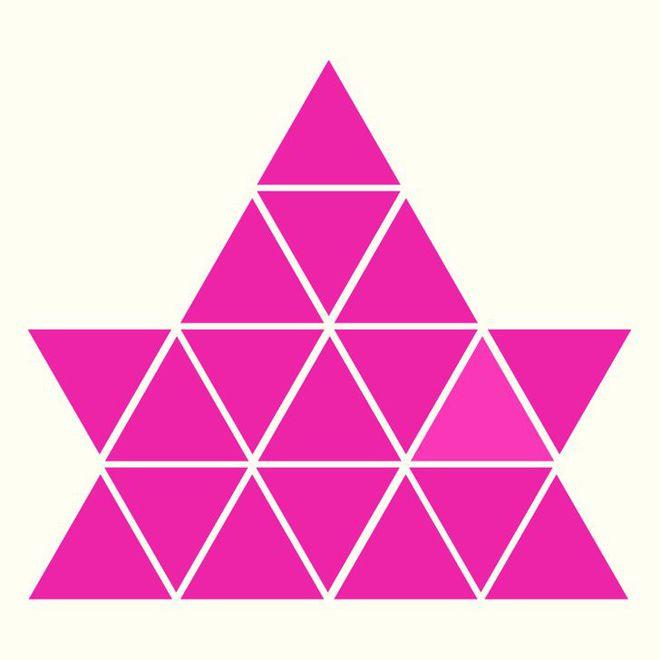 Người rất tinh mắt mới nhìn ra hình tam giác khác màu, bạn có nhìn thấy không? - Ảnh 7.