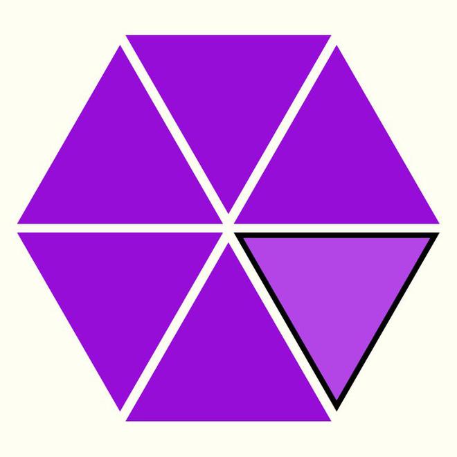 Người rất tinh mắt mới nhìn ra hình tam giác khác màu, bạn có nhìn thấy không? - Ảnh 16.