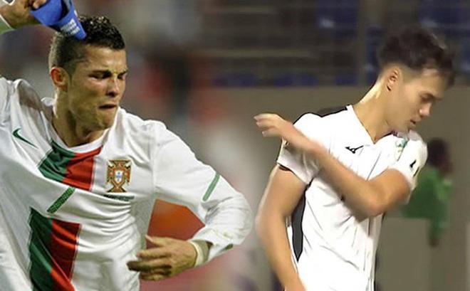 Tranh cãi Văn Toàn hành xử như Ronaldo khi tức giận: Tháo băng đội trưởng và ném thẳng xuống đất