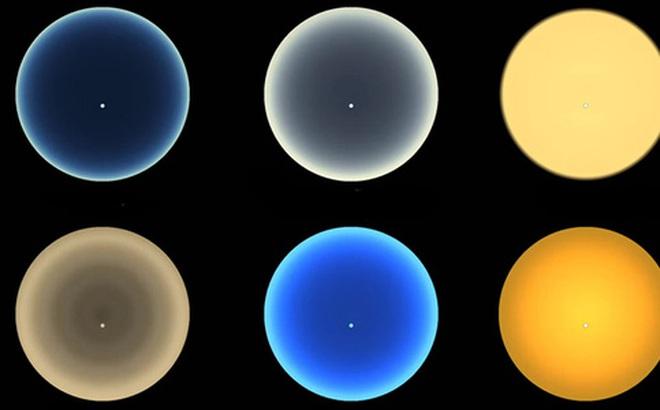 Video: Màu hoàng hôn trên các thiên thể trong vũ trụ