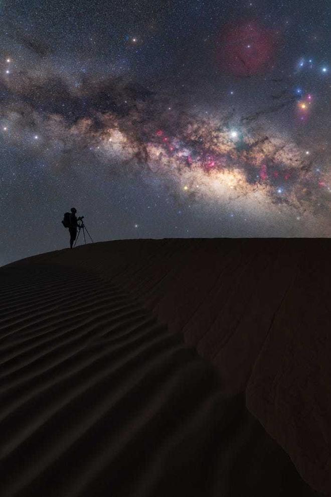 Lạc giữa Ngân Hà qua 15 bức ảnh trời đêm đẹp nghẹt thở - Ảnh 7.