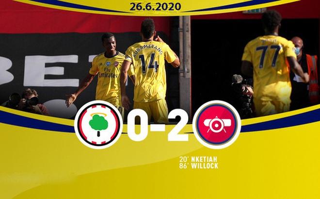 Southampton 0-2 Arsenal: Pháo thủ giành chiến thắng quan trọng (Vòng 31 Ngoại hạng Anh)