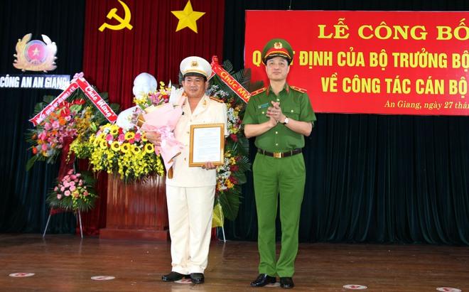 Bộ Công an bổ nhiệm giám đốc Công an An Giang, Kiên Giang và Long An - Ảnh 1.