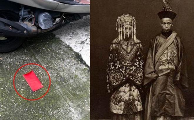 Thấy bao lì xì đỏ rơi trên đường, chàng trai suýt vô tình nhận lời cầu hôn của cô dâu đã chết và tục minh hôn không chỉ có ở Trung Quốc