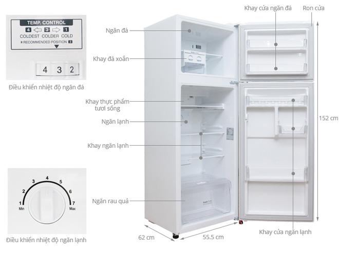4 mẫu tủ lạnh Inverter siêu tiết kiệm điện lại cực bền trong khoảng giá 8 triệu đáng mua cho các gia đình - Ảnh 3.
