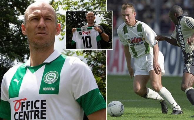 Arjen Robben bất ngờ tái xuất sau 1 năm giải nghệ