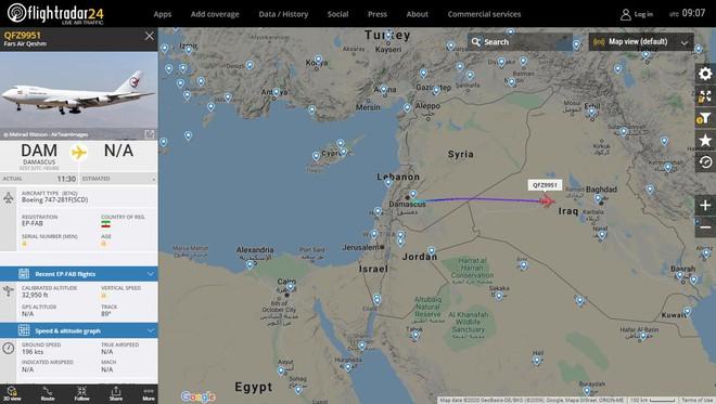 """Su-57 Nga bất ngờ tái xuất ở Syria, lãnh sứ mệnh đặc biệt chưa từng thấy - Máy bay Iran vừa thoát khỏi """"lưỡi hái tử thần"""" của Israel? - Ảnh 1."""