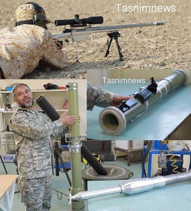 Iran bất ngờ tiết lộ loạt vũ khí mới, địch núp trong công sự cũng không thoát án tử? - Ảnh 1.