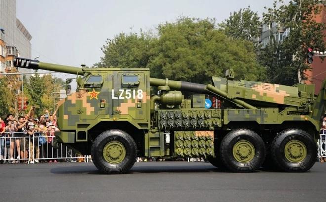 Trung Quốc đưa pháo 155 ly mẫu mới nhất tới Tây Tạng