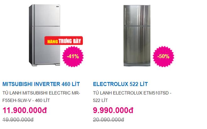 Tủ lạnh dung tích lớn, tiết kiệm điện, giảm giá còn hơn 9 triệu đồng trong ngày nắng nóng - Ảnh 1.