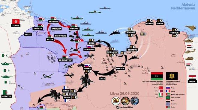 Phớt lờ lằn ranh đỏ của Nga - Ai Cập, Thổ tính quyết chiến ở Libya: Cái bẫy giăng sẵn? - Ảnh 2.