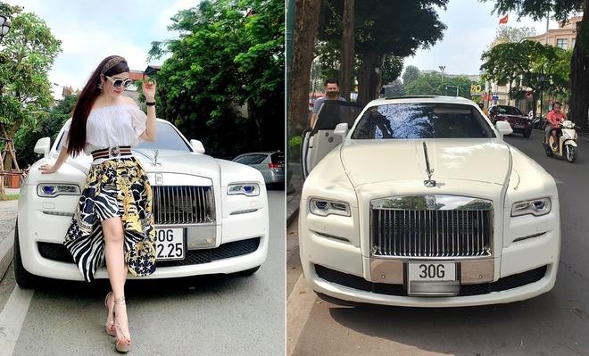 Bà chủ xinh đẹp buôn kim cương, đi Rolls-Royce tại Hà Nội là ai? - Ảnh 2.