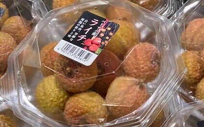 Vải thiều Việt Nam xuất hiện tại siêu thị của Singapore
