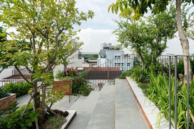 Công viên trên mái nhà tại Tp Hồ Chí Minh trên báo ngoại - Ảnh 7.