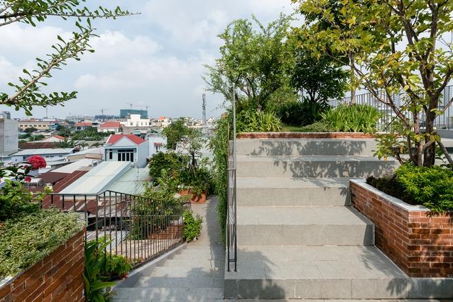 Công viên trên mái nhà tại Tp Hồ Chí Minh trên báo ngoại - Ảnh 8.