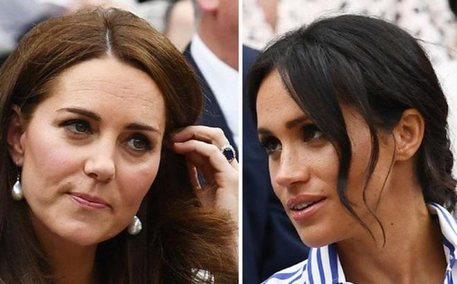 Công nương Kate từng gửi tối hậu thư cảnh cáo Meghan Markle vì đã tung tin đồn hãm hại đến danh tiếng của cô