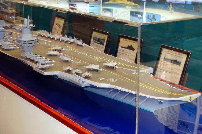 Lộ diện siêu vũ khí trên tàu sân bay mới của Nga: Đánh chặn tên lửa đạn đạo là chuyện nhỏ! - Ảnh 3.