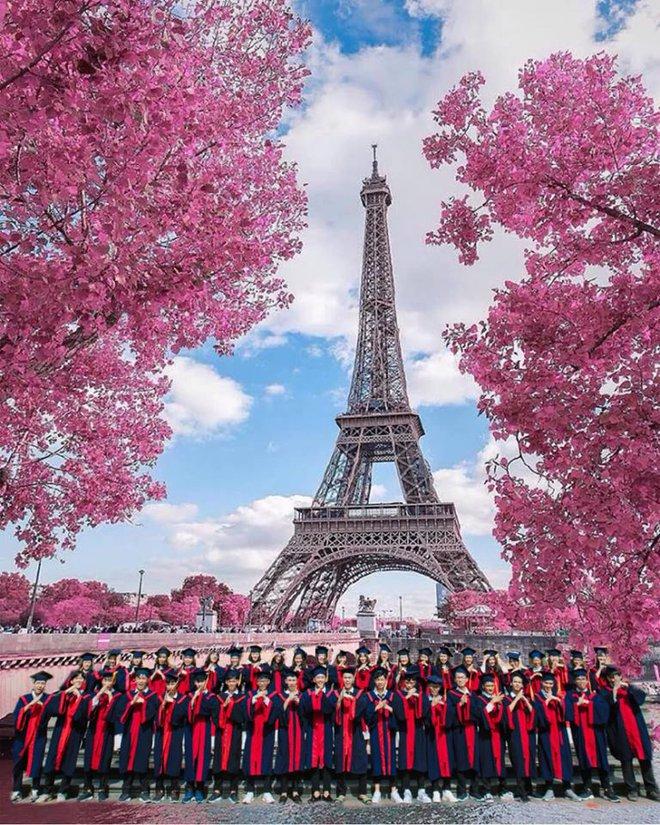 Một lớp học gây choáng vì độ chịu chi, đi du lịch nhiều nước để chụp ảnh kỷ yếu nhưng khi nhìn từng thành viên thì ai cũng ngớ người - Ảnh 4.