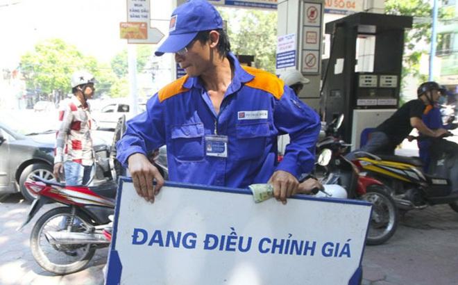 Thông báo chính thức về việc điều chỉnh giá xăng dầu từ 15h chiều nay