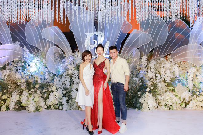 Đám cưới xa hoa của hoa khôi Hải Yến tại Cần Thơ - Ảnh 9.