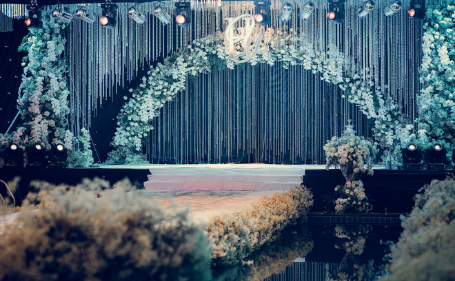 Đám cưới xa hoa của hoa khôi Hải Yến tại Cần Thơ - Ảnh 2.
