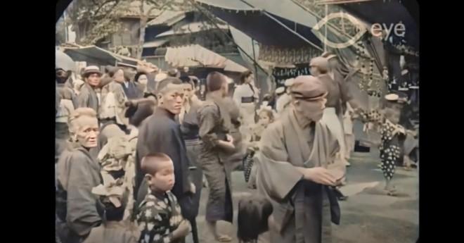 Ngắm đường phố Tokyo cách đây hơn 107 năm trước được phục dựng màu bằng AI và nâng cấp khung hình lên 60fps - Ảnh 2.