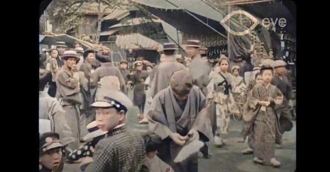 Ngắm đường phố Tokyo cách đây hơn 107 năm trước được phục dựng màu bằng AI và nâng cấp khung hình lên 60fps - Ảnh 1.