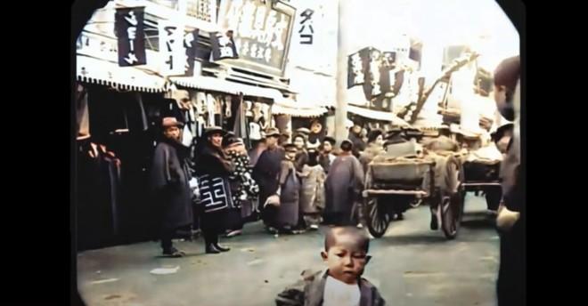 Ngắm đường phố Tokyo cách đây hơn 107 năm trước được phục dựng màu bằng AI và nâng cấp khung hình lên 60fps - Ảnh 3.