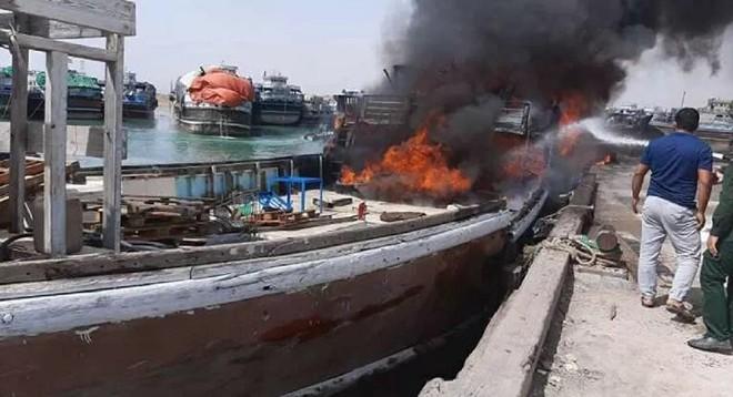 Tàu Iran bốc cháy hàng loạt, chuỗi hỏa hoạn bất thường lại tiếp diễn - Ảnh 1.