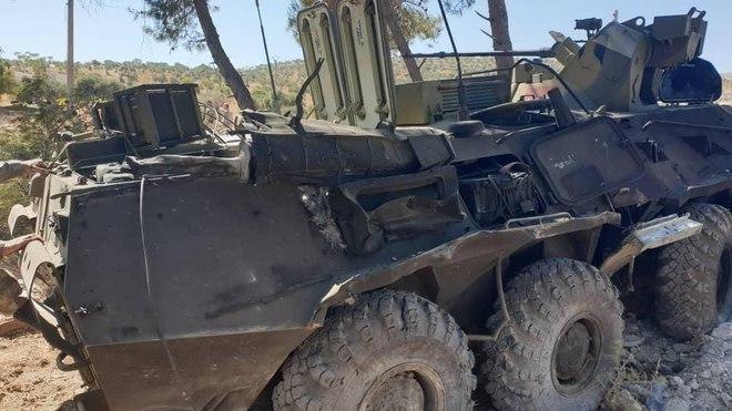 Rộ tin siêu tăng Armata Nga tiêu diệt... 9 xe tăng Israel - S-300 áp sát biên giới Libya, sẵn sàng bắn hạ F-16 Thổ? - Ảnh 4.