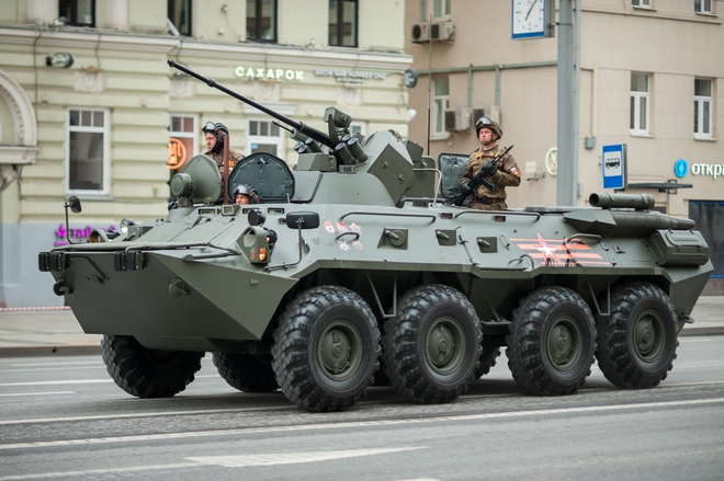 Lao xe bom vào Quân cảnh Nga, khủng bố Syria trả giá đắt: Quái thú BTR-82A lập công lớn - Ảnh 7.