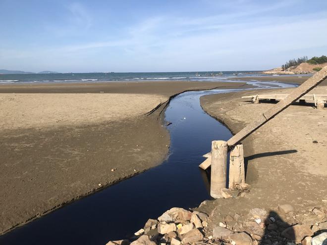 Toàn cảnh trang trại tôm xả dòng nước thải đen kịt, hôi thối ra biển ở Nghệ An - Ảnh 18.